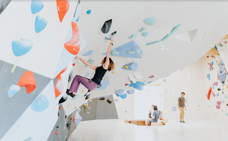 health benefits of indoor rock climbing