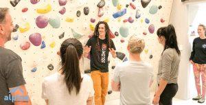 how to get into indoor rock climbing
